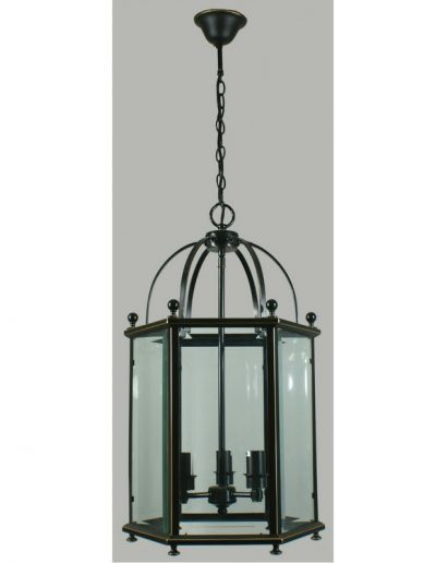 Glass Lanterne - 3 lights