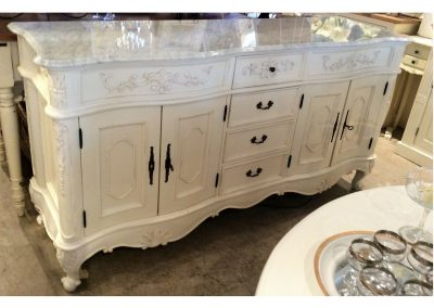 buffet marble