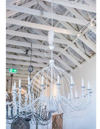 large candelabra white