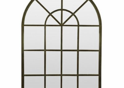 Arched Gate rounded mirror