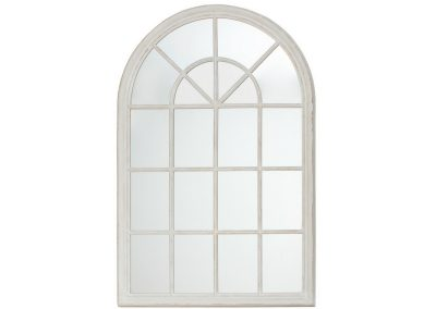 Arched Gate white timberl