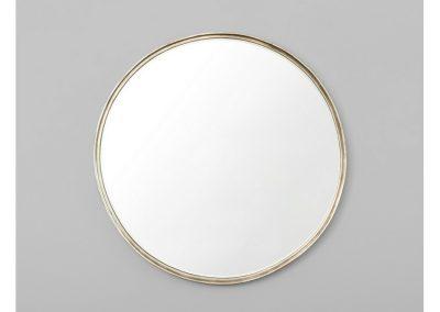 Mirror Round Champagne