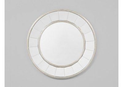 Round Mirror white tiles
