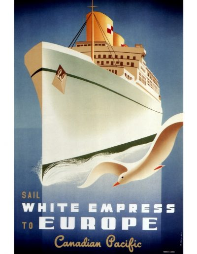 White Empress to Europe