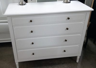 Chest of 4 Draws -Elegant White