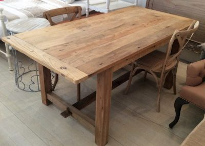 French Rustique Dining Table - Recycled Timber