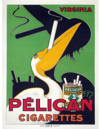 Advertising-Pelican-Cigarettes