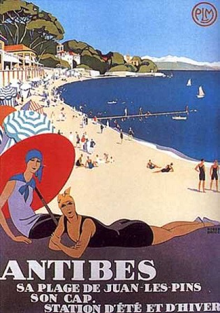 Antibes Plage - retroboutique.com.au