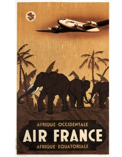 Aviation-Elephants - Air France