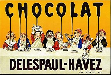 Delespaul-Havez Chocolat - retroboutique.com.au