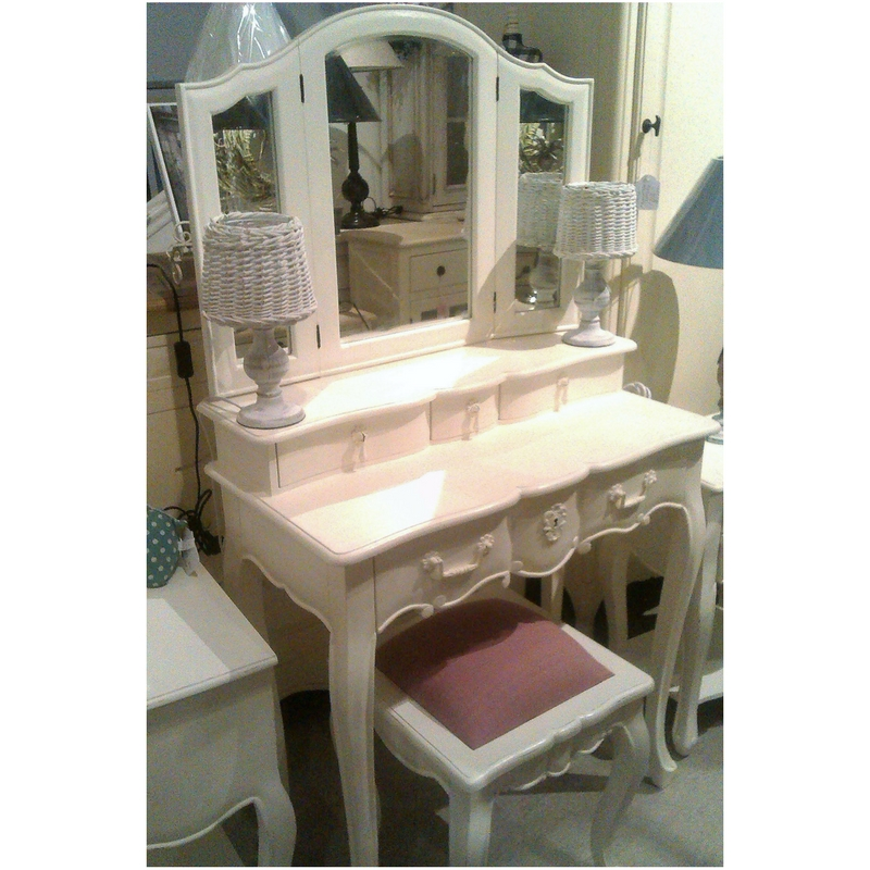 French Provincial Vanity Stool